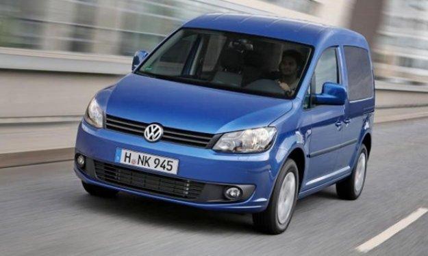 imagen frontal Volkswagen Caddy Bluemotion 2013