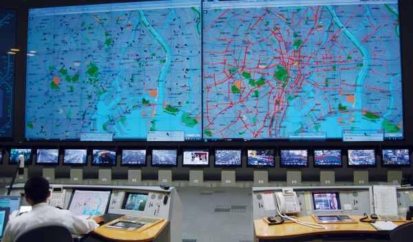 imagen tráfico terremoto tokio 11-3-2011