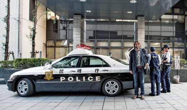 coche de policía de Tokio