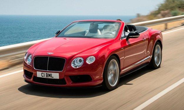 Bentley Continental GT V8 S Convertible - Salón de Frankfurt 2013