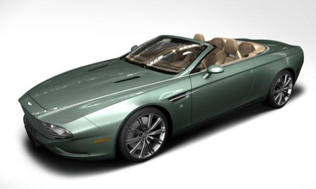 Aston Martin DB9 Spyder Centennial - Salón de Frankfurt 2013