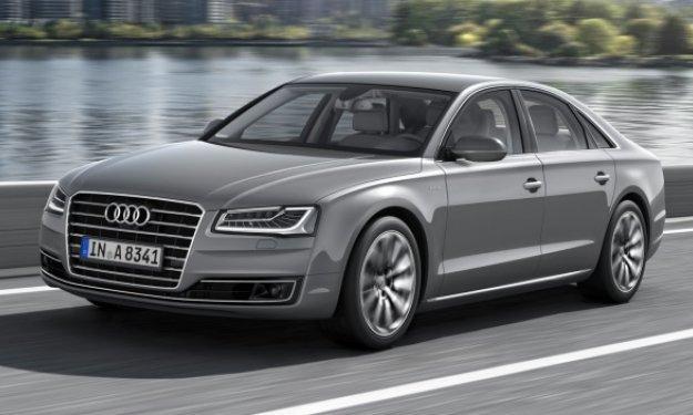 Audi A8 Delantera - Salón de Frankfurt 2013