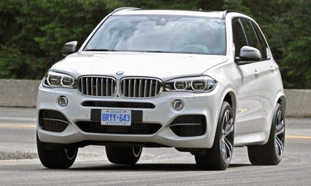 BMW X5 M50d 2014 - Salón de Frankfurt 2013