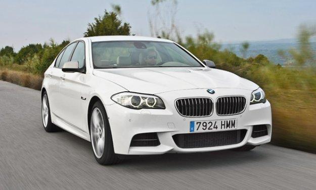 BMW M550d xDrive - Salón de Frankfurt 2013
