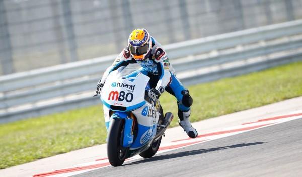 Tito Rabat, en el circuito de Misano.