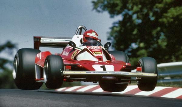 Película Rush Ferrari Lauda en nurburgring