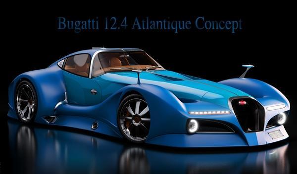 Bugatti 12.4 Atlantique Concept delantera