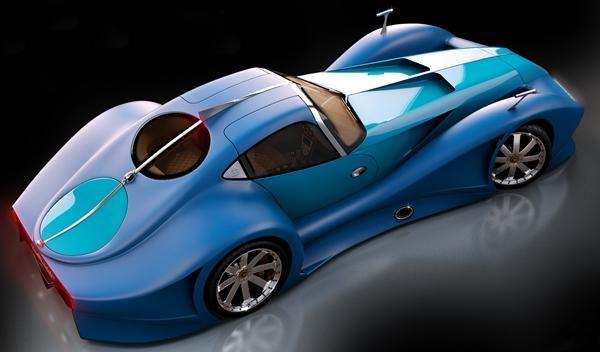 Bugatti 12.4 Atlantique Concept alta