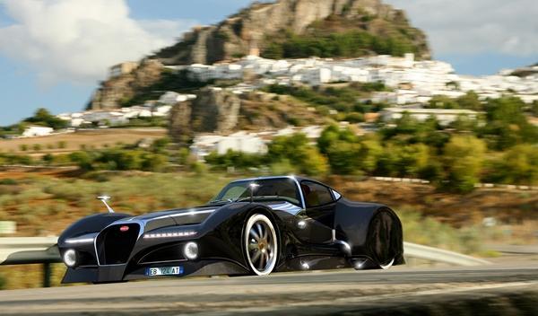 Bugatti 12.4 Atlantique Concept render