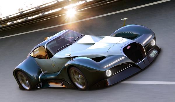 Bugatti 12.4 Atlantique Concept render 2