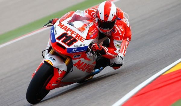 Nico Terol, en el Gran Premio de Aragón 2013