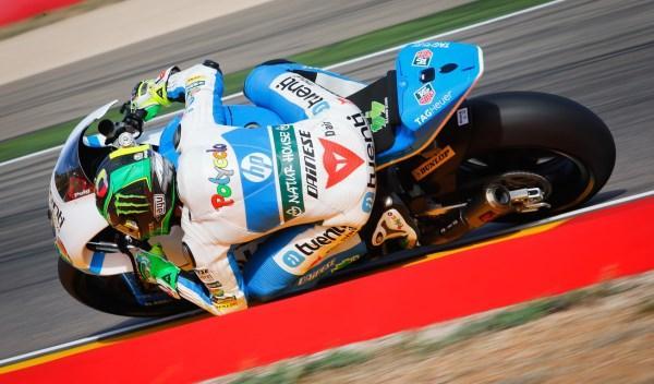 Pol Espargaró, en el Gran Premio de Aragón 2013.