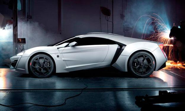 W Motors Lykan Hypersport lateral