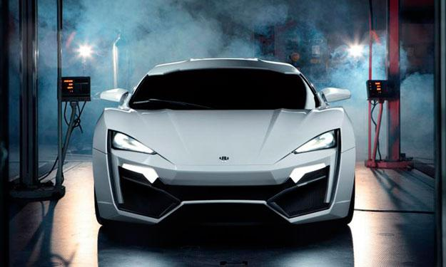 W Motors Lykan Hypersport frontal