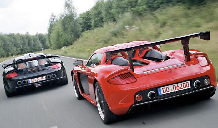 Porsche Carrera GT de 9ff