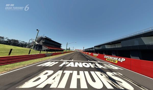 Gran Turismo 6 Bathurst recta