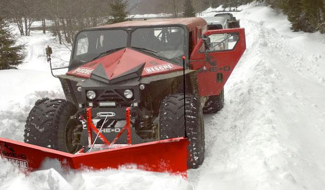 Ghe-O Rescue nieve