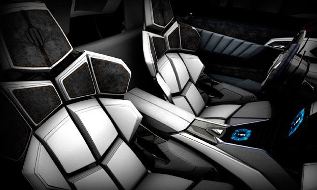 W Motors Lykan Hypersport asientos
