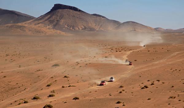 Panda Raid 2014 navegación en el desierto