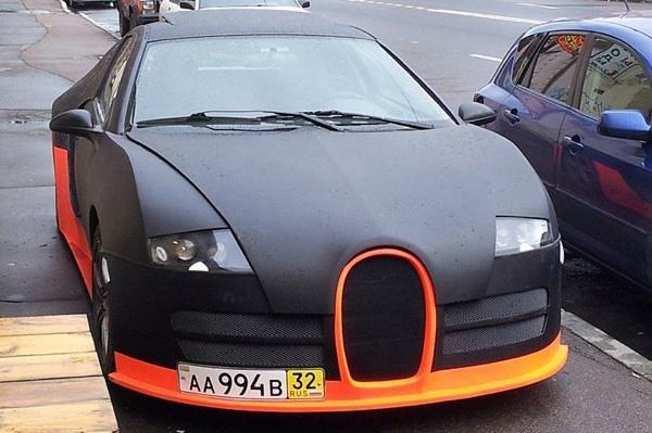 Bugatti Veyron falso