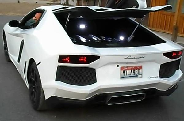 Lamborghini aventador falso
