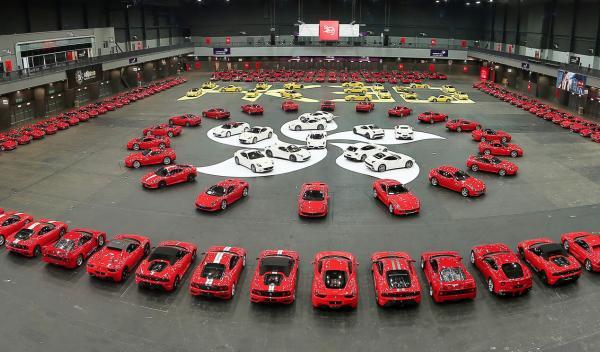 Ferrari celebra sus 30 años en Hong Kong