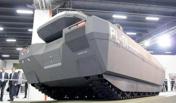 PL-01 Concept versátil