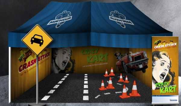 carpa plan joven de seguridad vial de Michelin