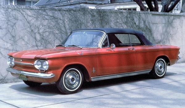 Los 13 coches más terroríficos para concudir Chevrolet Corvair