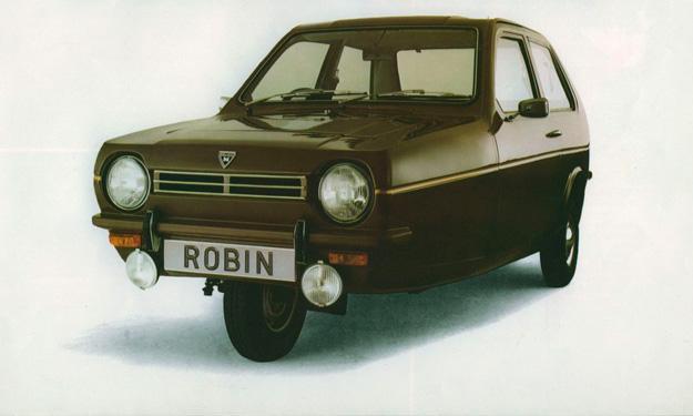 Los 13 coches más terroríficos para concudir Reliant Robin