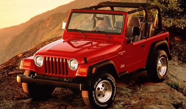 Los 13 coches más terroríficos para concudir Jeep Wrangler