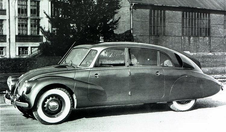 Los 13 coches más terroríficos para concudir Tatra 87