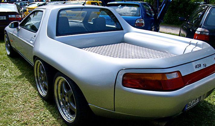 Porsche 928 6 ruedas