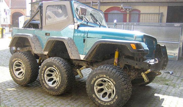 Jeep 6 ruedas