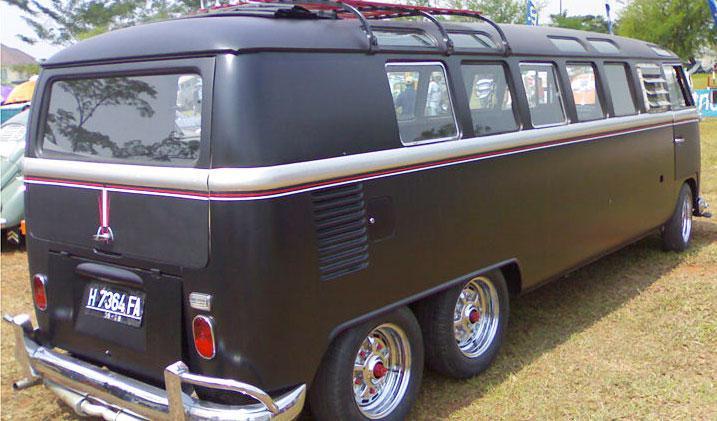 VW T seis ruedas
