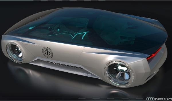 El Audi Fleet Shuttle Quattro que aparecerá en El juego de Ender