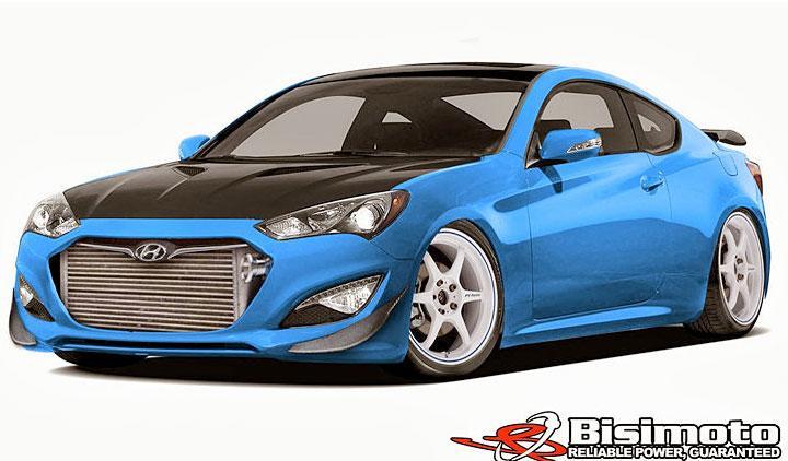 Hyundai Genesis Coupé de Bisimoto