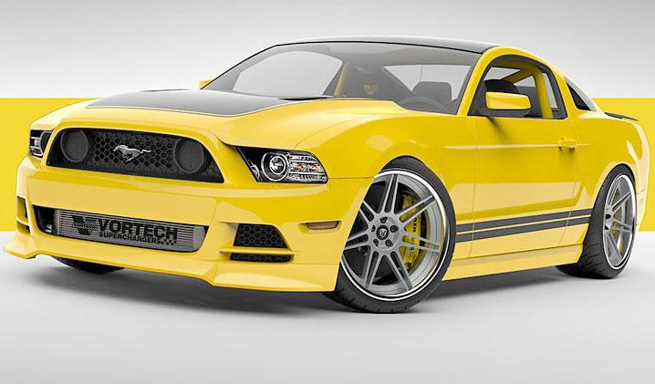 """Ford Mustang """"Yellow Jacket"""""""