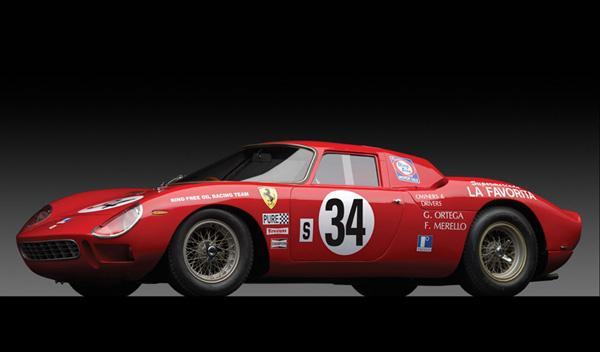 Ferrari 250 LM by Carrozzeria Scaglietti de 1964, entre 9 y 11,5 millones