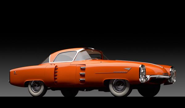 El Lincoln Indianapolis Exclusive Study by Carrozzeria Boano Torino de 1955