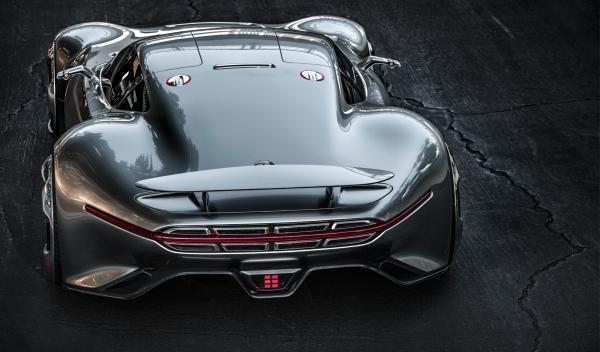 Mercedes-Benz AMG Gran Turismo trasera