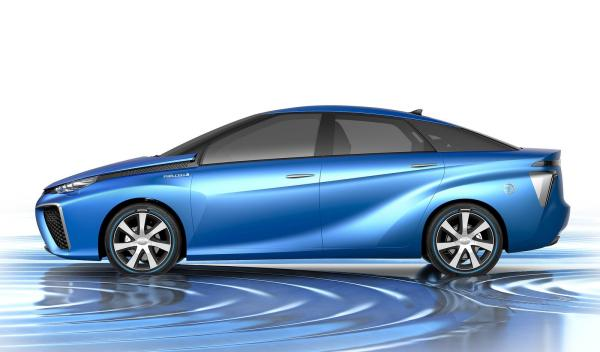 Toyota FCV Concept para 2015