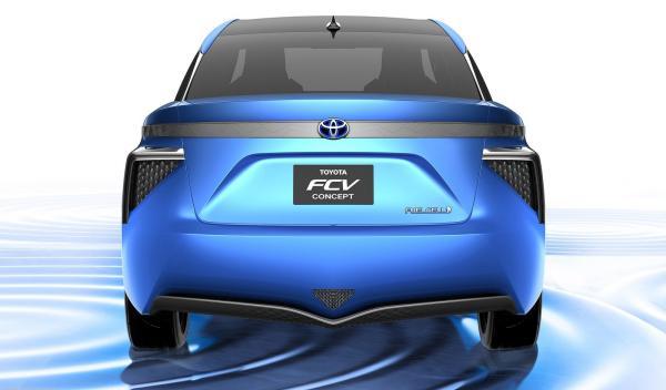 Toyota FCV Concept con 500 km de autonomía