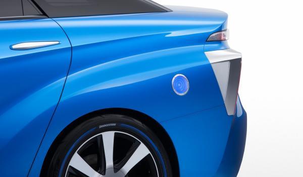 Toyota FCV Concept carga de batería