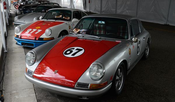 Exposición de Porsche