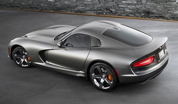 SRT Viper GTS Anodized Carbon Special Edition trasera