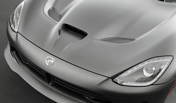 SRT Viper GTS Anodized Carbon Special Edition capó
