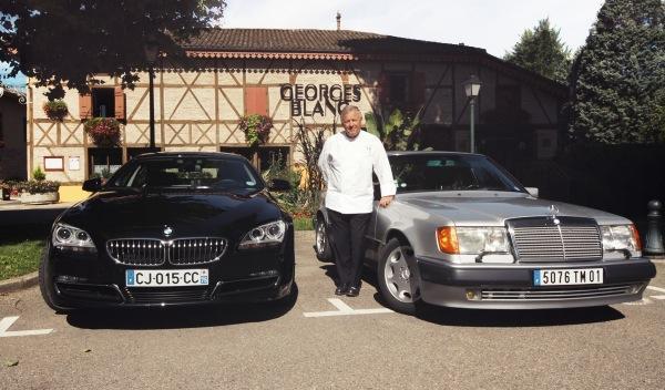 Los coches de Georges Blanc