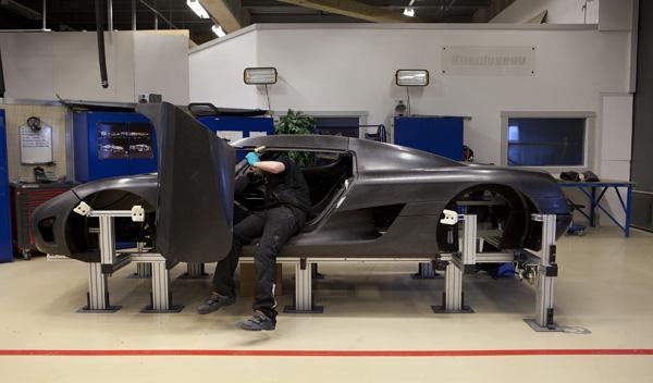 Koenigsegg fabricación