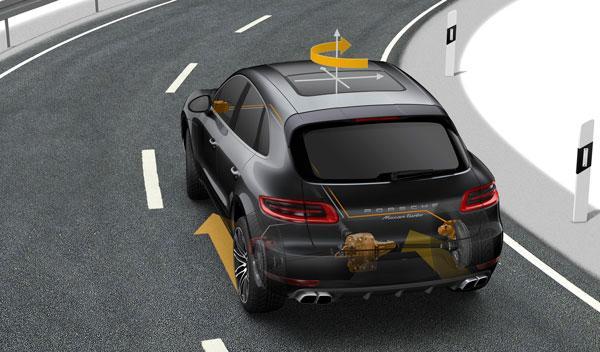 El Porsche Macan llevará un Torque Vectoring con diferencial electromecánico